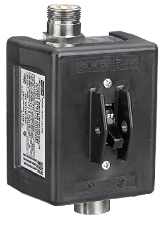 Hubbell Hbl1389mqr2 Quick Disconnect Switch 3 Pole