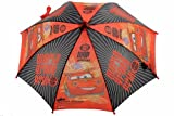 Disney Pixar Cars Boy's Red World Grand Prix 3D Handle Umbrella