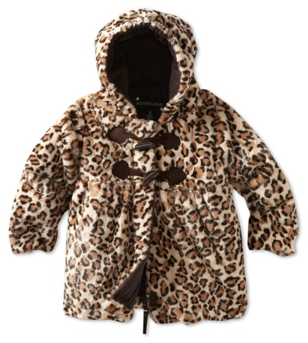 05a662c2712c Compare Prices Rothschild Baby Girls Infant Leopard Toggle Jacket ...