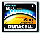 Duracell High Speed 16 GB 600X USB 2.0 Compact Flash Card Card UDMA DU-CF6016G-C