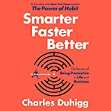 Smarter Faster Better: The Secrets of Being Productive in Life and Business (audio edition)
