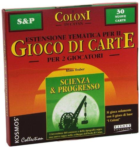 Giochi Uniti Die Siedler von Catan, Kartenspiel: Wissenschaft und Fortschritt, auf Italienisch