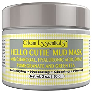 Anti Aging Facial Treatment Mud Mask..Blackhead Remover Guaranteed To Get Rid Of Blackheads and Shrink Pores Instantly. Excellent For Facials At Home
