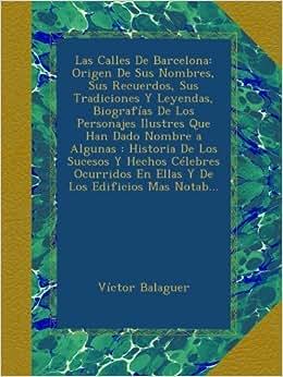 Recuerdos, Sus Tradiciones Y Leyendas, Biografías De Los Personajes