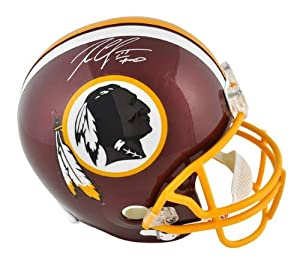 Robert Griffin III Washington Redskins Autographed Riddell Replica Helmet - -... by Sports Memorabilia