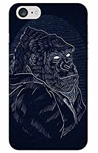 iessential ape Designer Printed Back Case Cover for Apple iPhone 7