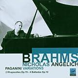 echange, troc  - 4 Ballades Op.10 - 2 Rhapsodies Op.79 - Variations Sur Un Thème De Paganini