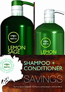 Paul Mitchell Tea Tree Lemon Sage Thickening Shampoo and Conditioner Liter Duo