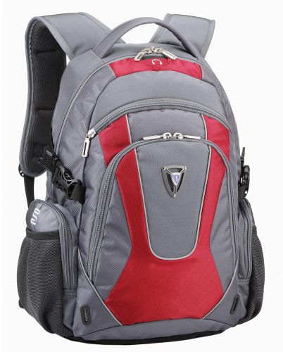 Sumdex PON-364RD Rain Bumper Backpack for up to 15.6 Inch PC (Red)