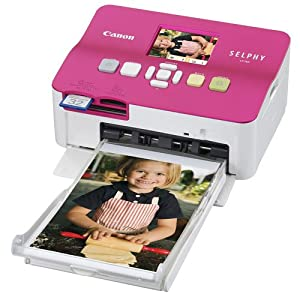 Canon Selphy CP780 Hot Pink Compact Photo Printer