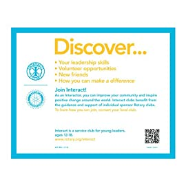 Interact promotional card