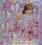 Baby Born Fashion girl Value Pack