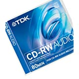 TDK CD-RW Audio CD Rewritable 10 pack 80 Minsby TDK