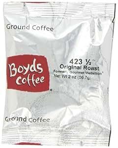 Boyd's Coffee Ground Coffee, Original Roast, Medium Roast , 2-Ounce Portion Packs (Pack of 60)