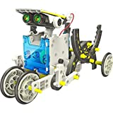 iLoonger 14 in 1 Solar Robot Assembly Rechargeable Kids Toy Kit Review