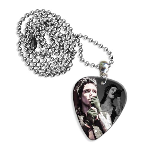 Black Veil Brides Andy Biersack (WK) Live Performance Chitarra Plettro Necklace Collana
