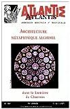 echange, troc XXX - 407.Architecture Metaphysique Alchimie
