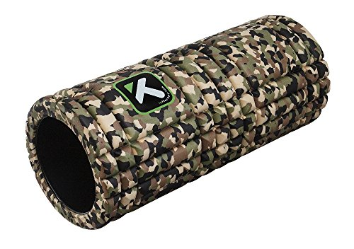 TriggerPoint GRID Foam Roller with Free Online Instructional Videos, Original (13-inch), Camo (Cycling Videos Online compare prices)