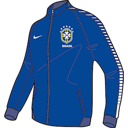 Nike Brasil N98 Authentic Soccer Jacket (Royal Blue) Small напольная плитка grasaro parquet art beige grey gt 502 gr 40x40