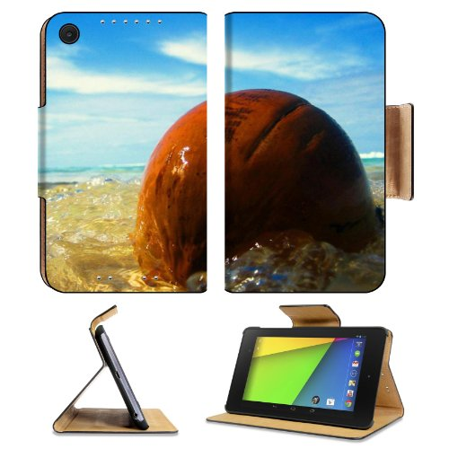 Ocean Waves Washing Over Stone Asus Google Nexus 7 Fhd Ii 2Nd Generation Flip Case Stand Magnetic Cover Open Ports Customized Made To Order Support Ready Premium Deluxe Pu Leather 8 1/4 Inch (210Mm) X 5 1/2 Inch (120Mm) X 11/16 Inch (17Mm) Msd Nexus 7 Pro front-640192