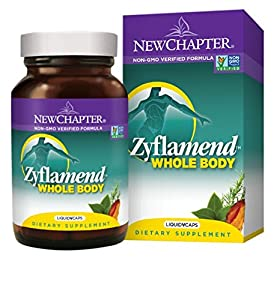 New Chapter Zyflamend Whole Body, with Turmeric and Ginger - 120 LiquidVCAPS