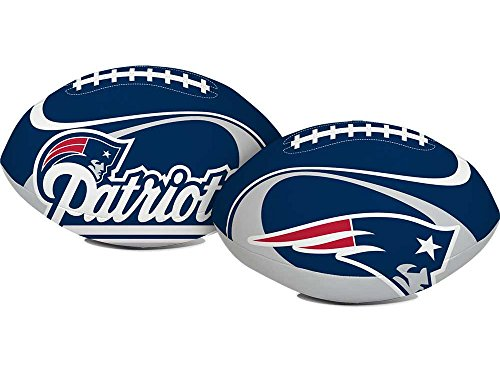 NEW ENGLAND PATRIOTS SOFT VINYL FOOTBALL (Patriots Ball D compare prices)