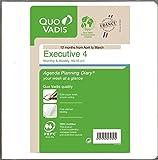 クオバディス 手帳 2016 4月始まり エグゼクティブ4 リフィル ウィークリー qv662rech-pe