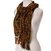Autumnal Nubby Scarf