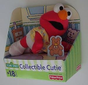 Amazon Com Sesame Street Plush 6 Quot Baby Elmo Doll By