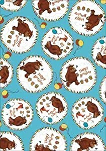 The Gruffalo Blue Giftwrap/Wrapping Paper - 2 Sheets