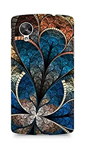 Amez designer printed 3d premium high quality back case cover for LG Nexus 5 (Abstract 2)