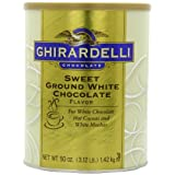 "GHIRARDELLI Sweet Ground White Chocolate 1,42 kgvon ""Ghirardelli"""