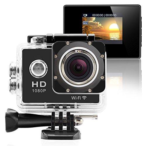 GeekPro Pro 1 Wifi 12MP Full HD 1080P Sports Camera Waterproof Action DV