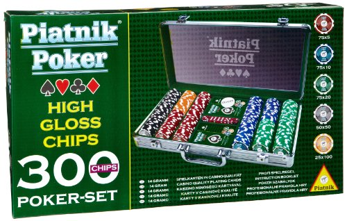 Piatnik 7903 - Poker Set 300 High Gloss...