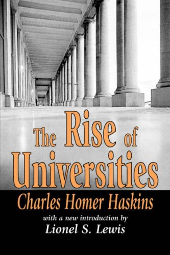 The Rise of Universities (Foundations of Higher Education)