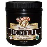 PACK OF 2 - BARLEANS Organic Virgin Coconut Oil 16fl.oz. EACH