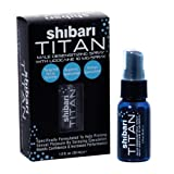 Shibari Titan Spray, Men's Desensitizing Spray, 1 Fluid Oz., with Maximum Lidocaine for Prolonged Intimacy