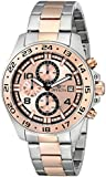 Invicta Men's Quartz Watch with Rose Gold Dial Chronograph Display and Rose Gold Stainless Steel Plated Bracelet 13868