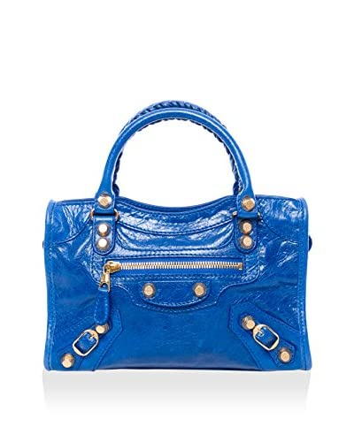 Balenciaga Women's Giant 12 Mini City Bag, Royal Blue