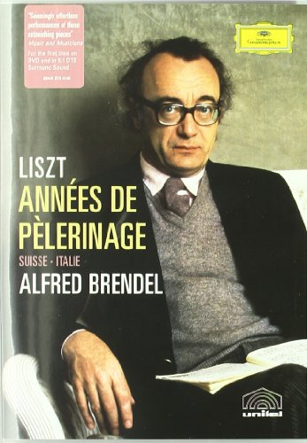 Cover art for  Liszt - Annees de Pelerinage / Alfred Brendel