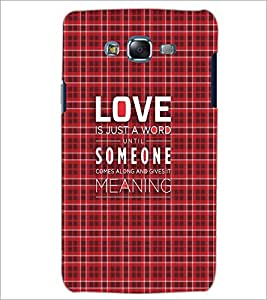 PrintDhaba Quote D-3499 Back Case Cover for SAMSUNG GALAXY J7 (Multi-Coloured)