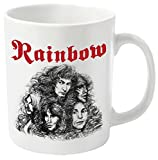 Plastic Head Rainbow Long Live Rock-n-Roll Mug, Black
