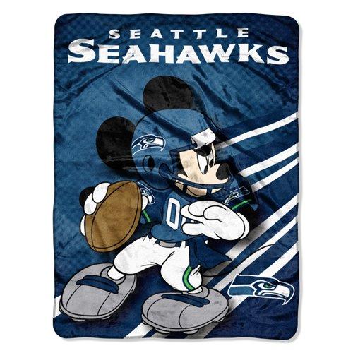 NFL-Seattle-Seahawks-Mickey-Mouse-Ultra-Plush-Micro-Super-Soft-Raschel-Throw-Blanket