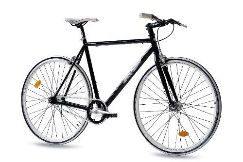 Bicicleta urbana con cuadro de carretera