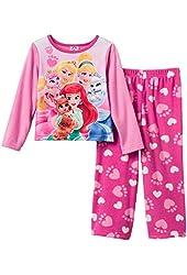Disney Princess Fleece Palace Pets Toddler Girls Pajama Set