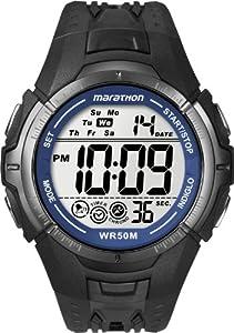 Timex -T5K3594E - Marathon- Quartz digitale - Montre Homme- Bracelet en résine Noir par Timex