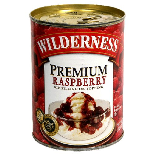 Buy Wilderness Premium Pie Filling, Raspberry, 21-Ounce Cans (Pack of 6) (Wilderness, Health & Personal Care, Products, Food & Snacks, Baking Supplies, Pie & Cobbler Fillings)