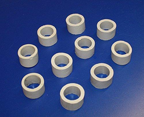 Wasserflora 10 Stück Keramikring / Pflanzring - Ø ca. 3 cm