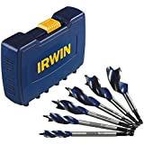 IRWIN Tools Speedbor Max Spade Bit Set, 6-Piece (3041006)