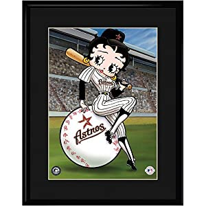 Houston Astros MLB Betty On Deck Collectible by Toon Art